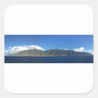 Adesivo Quadrado Havaí