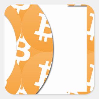Adesivo Quadrado Hodl Bitcoin