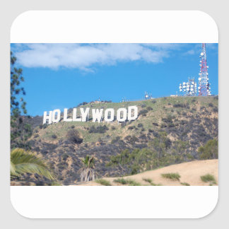 Adesivo Quadrado Hollywood Hills