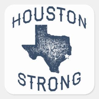 Adesivo Quadrado Houston forte - Harvey