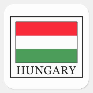 Adesivo Quadrado Hungria