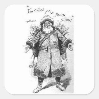 Adesivo Quadrado I_Am_Santa_Claus