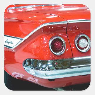 Adesivo Quadrado Impala de Chevy do clássico 61