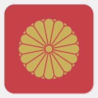 Adesivo Quadrado Imperador de Japão