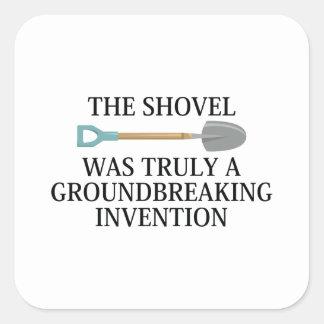 Adesivo Quadrado Invenção inovador