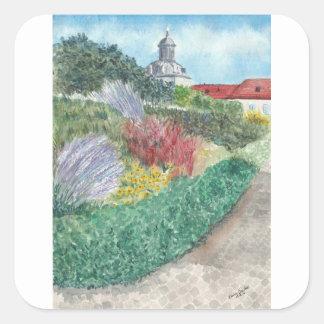 Adesivo Quadrado Jardins em Schloss Köpenick
