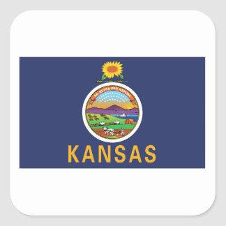 Adesivo Quadrado Kansas
