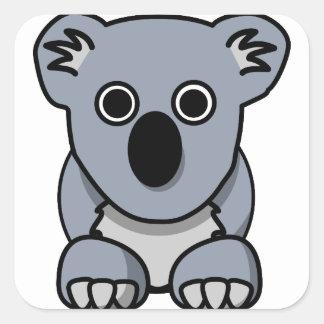 Adesivo Quadrado koala