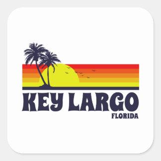 Adesivo Quadrado Largo chave Florida