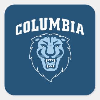 Adesivo Quadrado Leões da Universidade de Columbia  