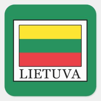 Adesivo Quadrado Lietuva