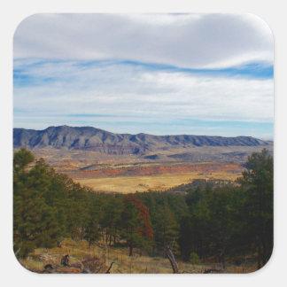 Adesivo Quadrado Lince Ridge Colorado