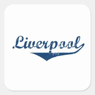 Adesivo Quadrado Liverpool