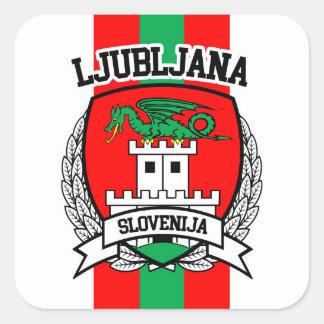 Adesivo Quadrado Ljubljana