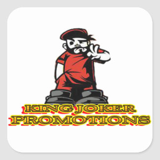Adesivo Quadrado Logotipo de KJP
