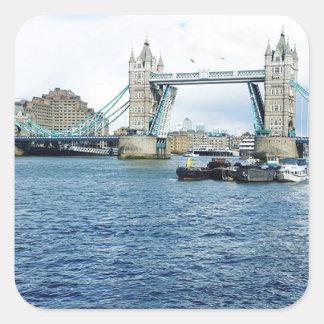 Adesivo Quadrado Londres