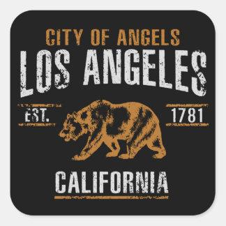 Adesivo Quadrado Los Angeles