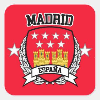 Adesivo Quadrado Madrid