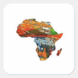 Adesivo Quadrado Mãe África