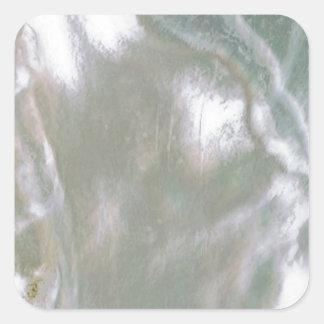 Adesivo Quadrado Mãe de Pearl White