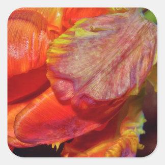Adesivo Quadrado Magic Conversas Tulip