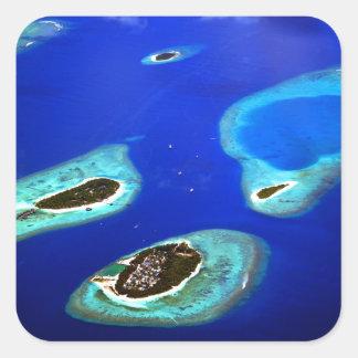Adesivo Quadrado Maldives