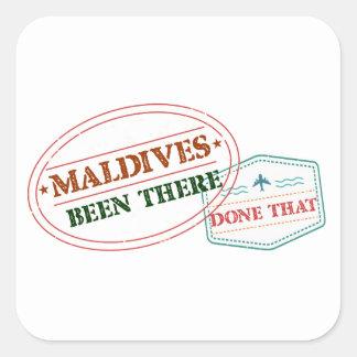 Adesivo Quadrado Maldives feito lá isso