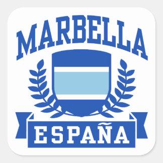Adesivo Quadrado Marbella Espana