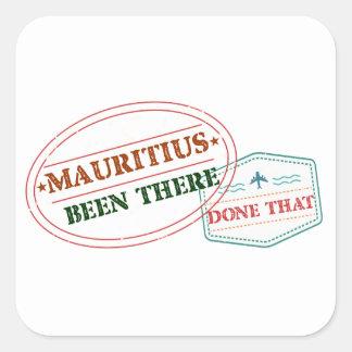 Adesivo Quadrado Maurícia feito lá isso
