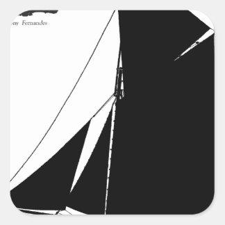 Adesivo Quadrado Medway 1873 Peterboat - fernandes tony