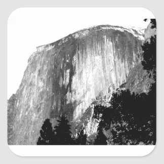 Adesivo Quadrado MEIA ABÓBADA - Yosemite