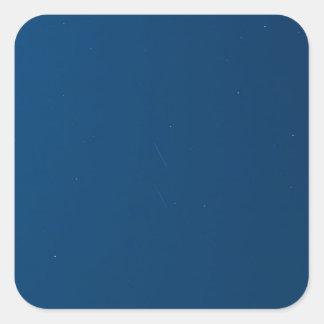 Adesivo Quadrado Meteoros das estrelas de queda