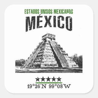 Adesivo Quadrado México