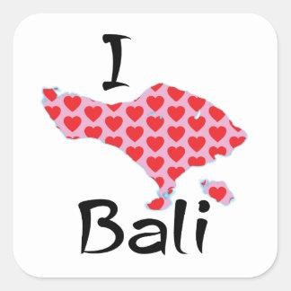 Adesivo Quadrado Mim coração Bali
