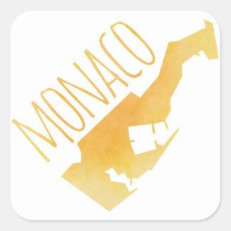 Adesivo Quadrado Monaco