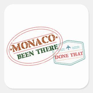 Adesivo Quadrado Monaco feito lá isso
