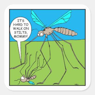 Adesivo Quadrado Mosquito