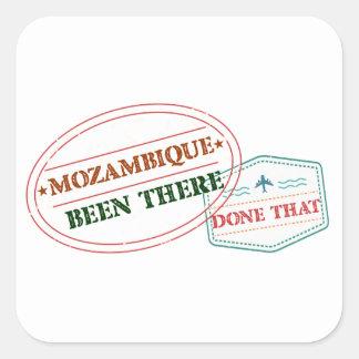 Adesivo Quadrado Mozambique feito lá isso