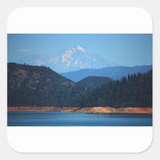 Adesivo Quadrado Mt Shasta