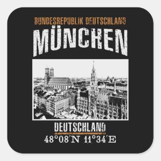 Adesivo Quadrado Munich