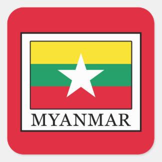 Adesivo Quadrado Myanmar