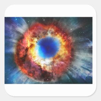 Adesivo Quadrado Nebulosa da hélice