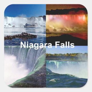 Adesivo Quadrado Niagara Falls New York