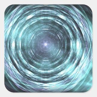 Adesivo Quadrado No buraco negro
