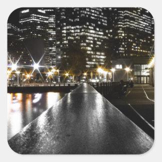 Adesivo Quadrado Noite de San Francisco