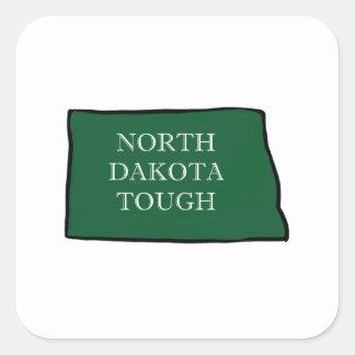 Adesivo Quadrado North Dakota resistente