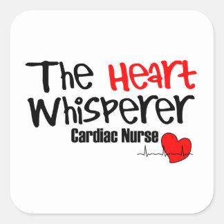 Adesivo Quadrado Nutra o whisperer do coração