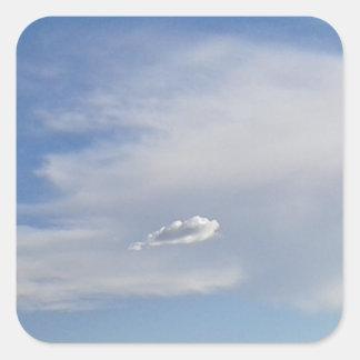 Adesivo Quadrado Nuvem e nuvem