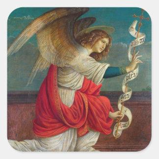 Adesivo Quadrado O anjo Gabriel - Gaudenzio Ferrari