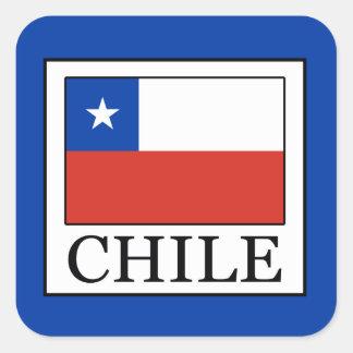 Adesivo Quadrado O Chile